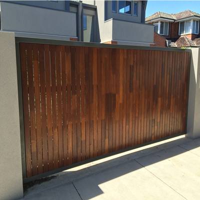 Merbau Fencing Panels in Melbourne