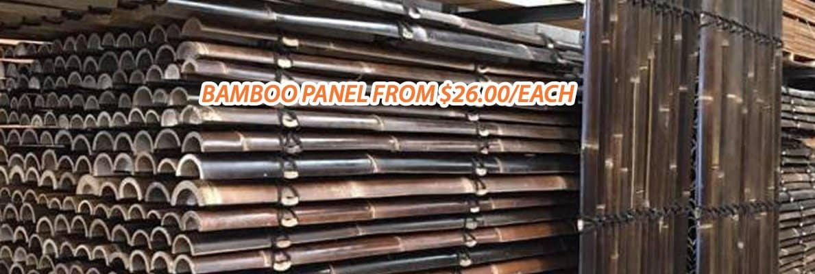 Bamboo-Panel From $26.00/Each