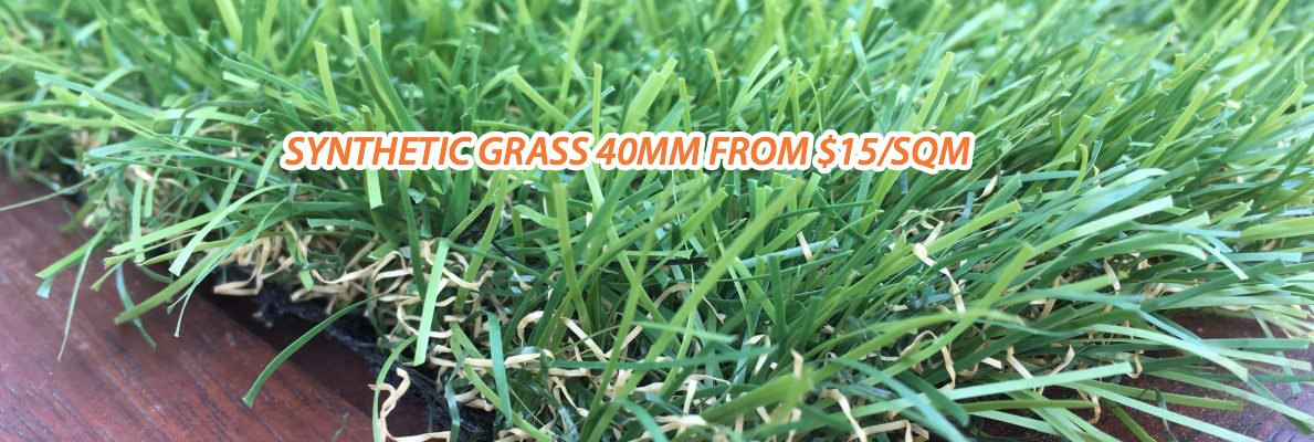 Synthetic Grass Supplier - Synthetic Grass 40MM from $15/SQM